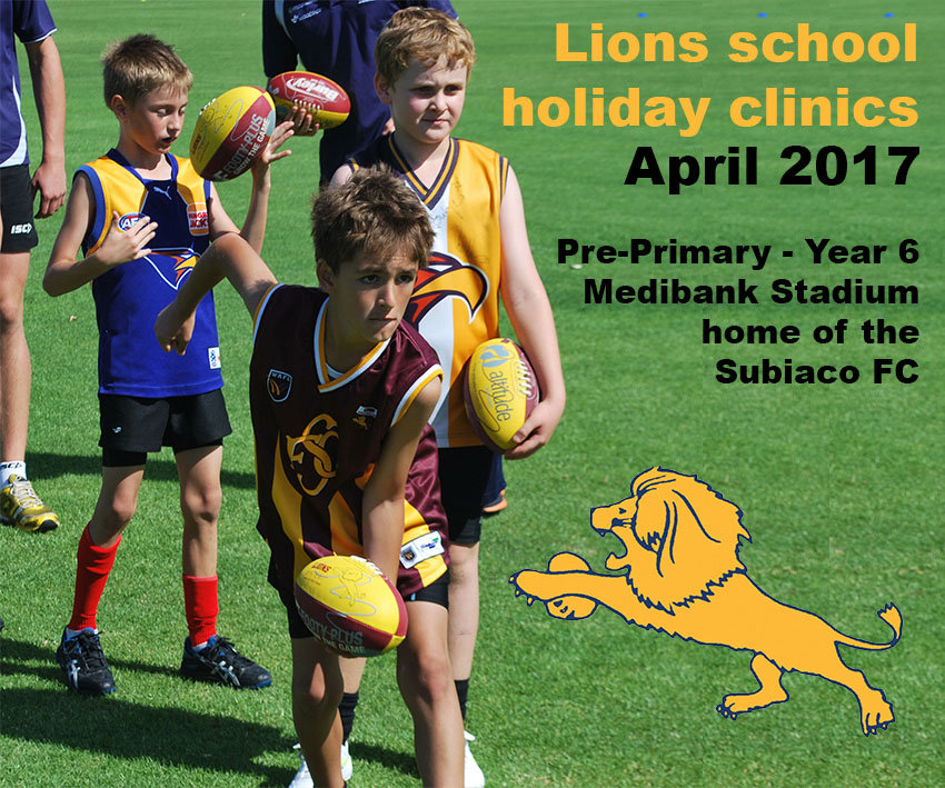 Lions School Holiday Clinic