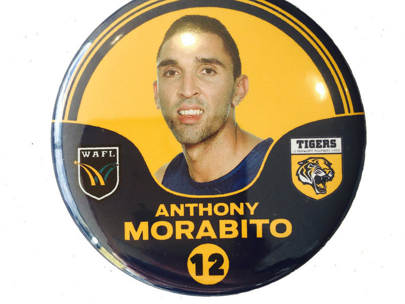Anthony Morabito 12 Player Badge