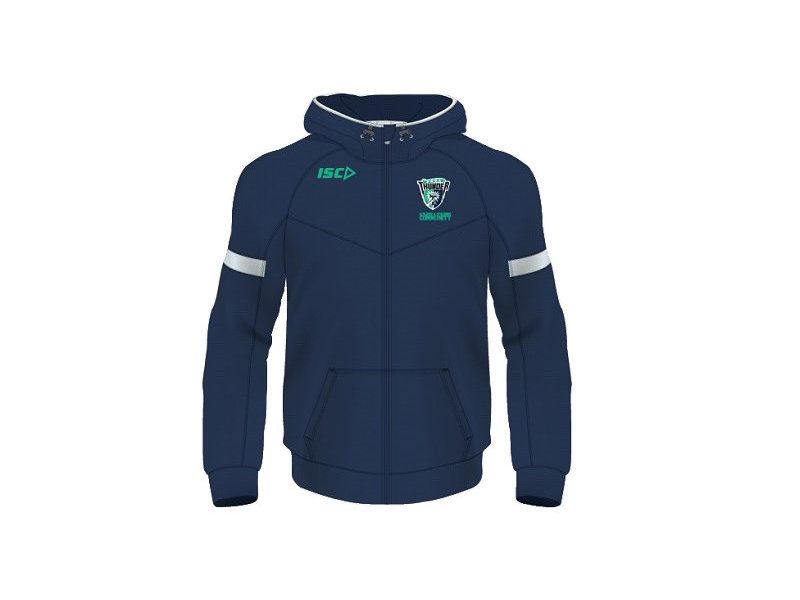 Peel Thunder Zip up Hoodie