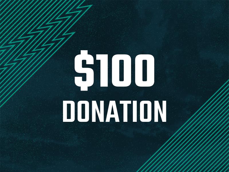 100 Dollar Donation