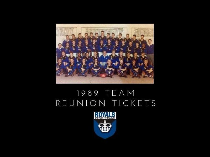 1989 Team Reunion