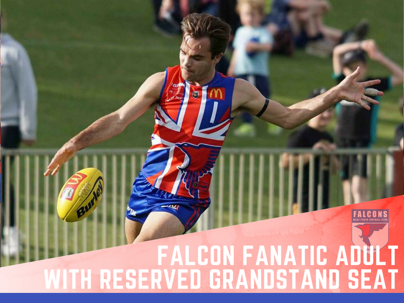 Falcon Fanatic Adult          Reserved Grandstand seat