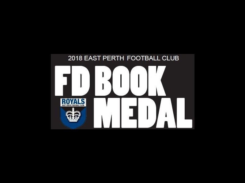 FD Book Medal Night - Supporters Ticket