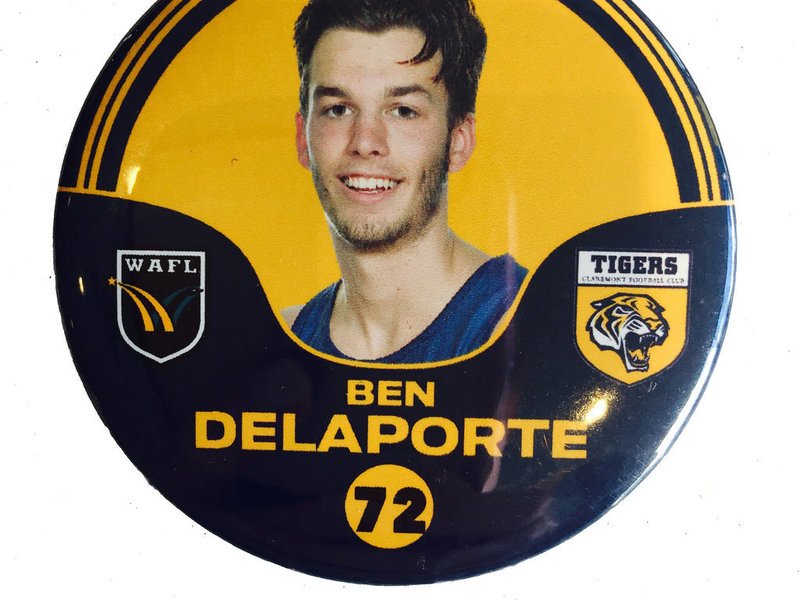 Ben Delarporte 72 Player Badge