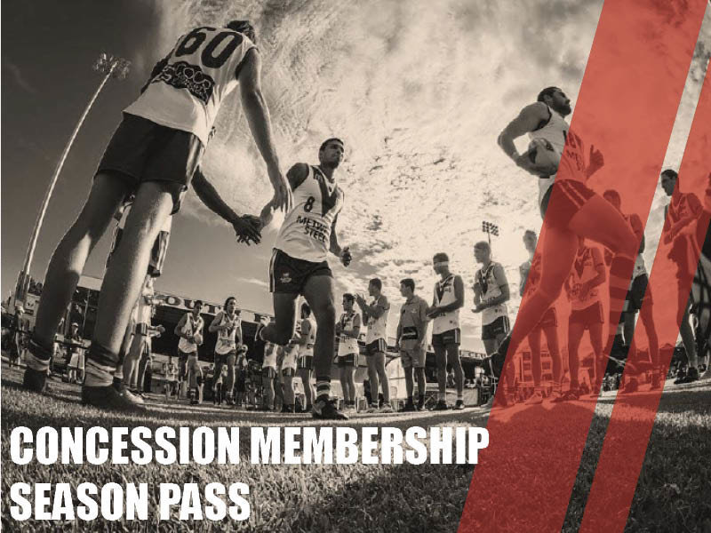 Pensioner - Concession - Season Pass