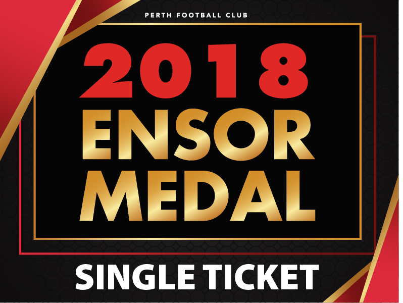 Ensor Medal Ticket