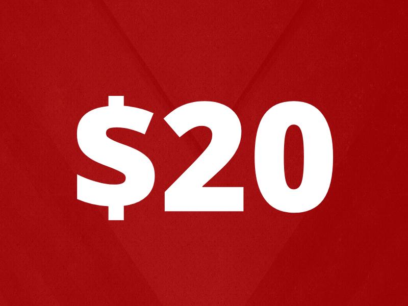 Donation 20