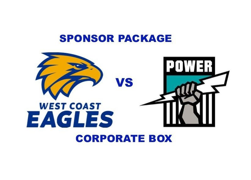 EAGLES v POWER - Sponsor Package - CORPORATE BOX