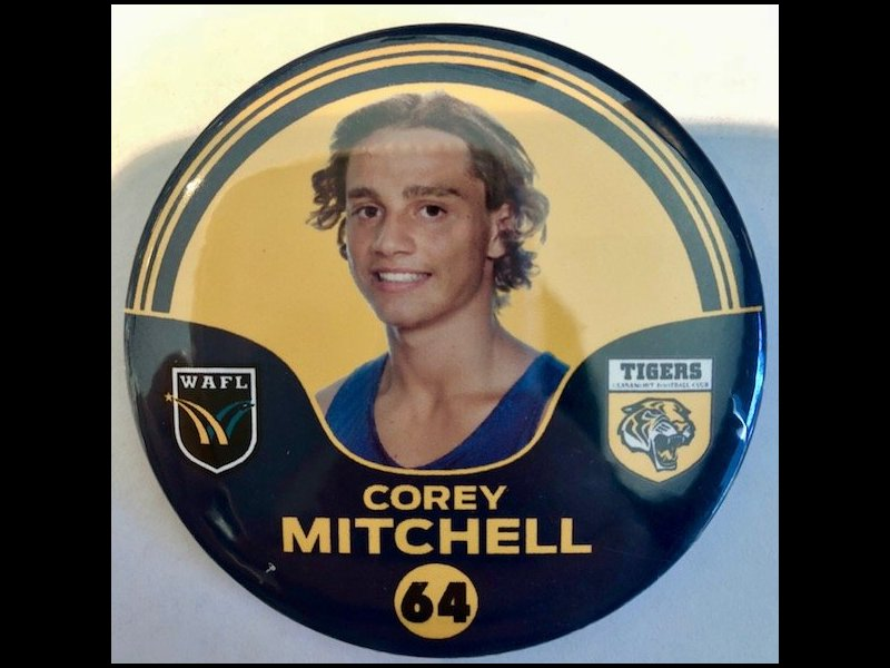 Corey Mitchell Player Badge Number 64