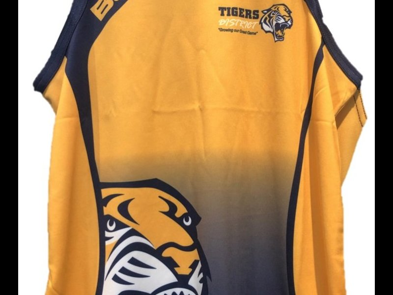 Kids Tigers District Singlet