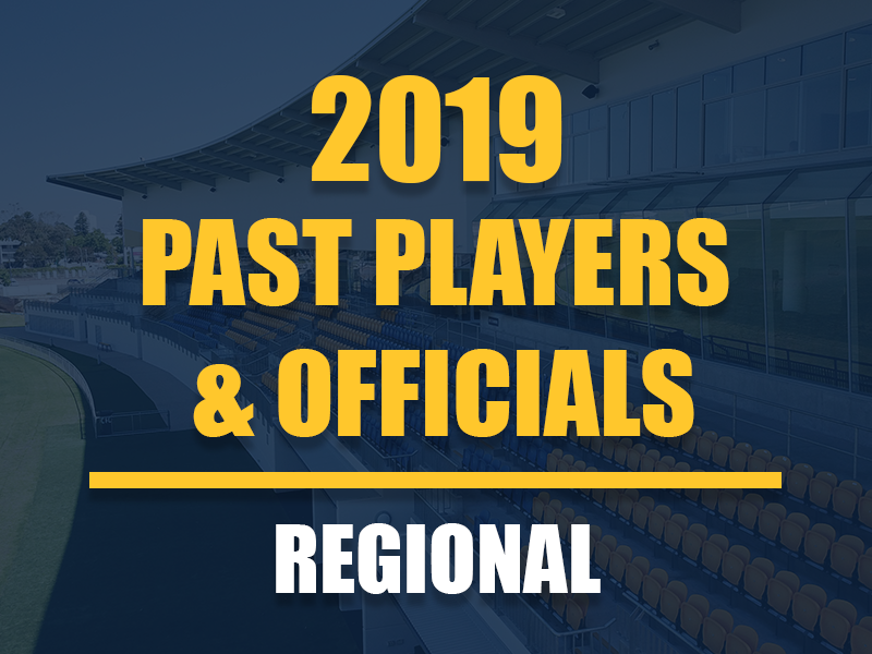 Past Players and Officials Membership - Regional
