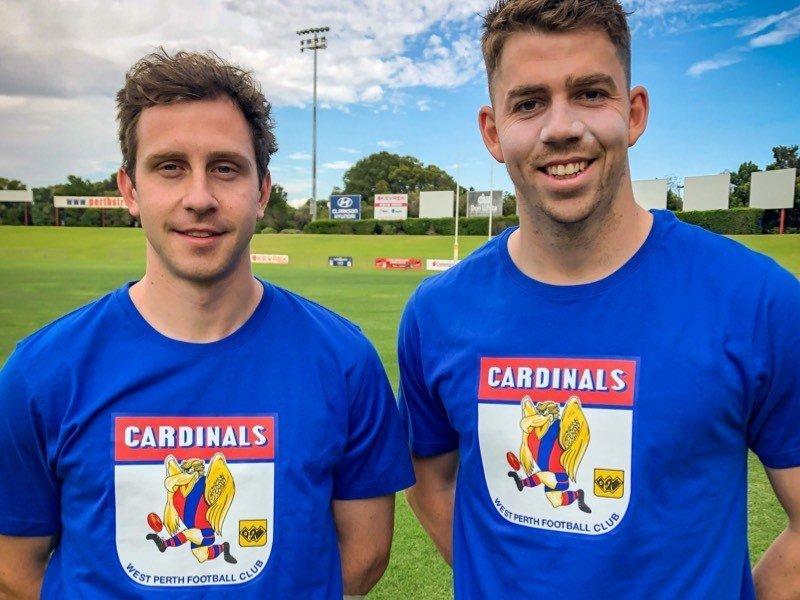 Cardinals Retro T Shirt - Blue