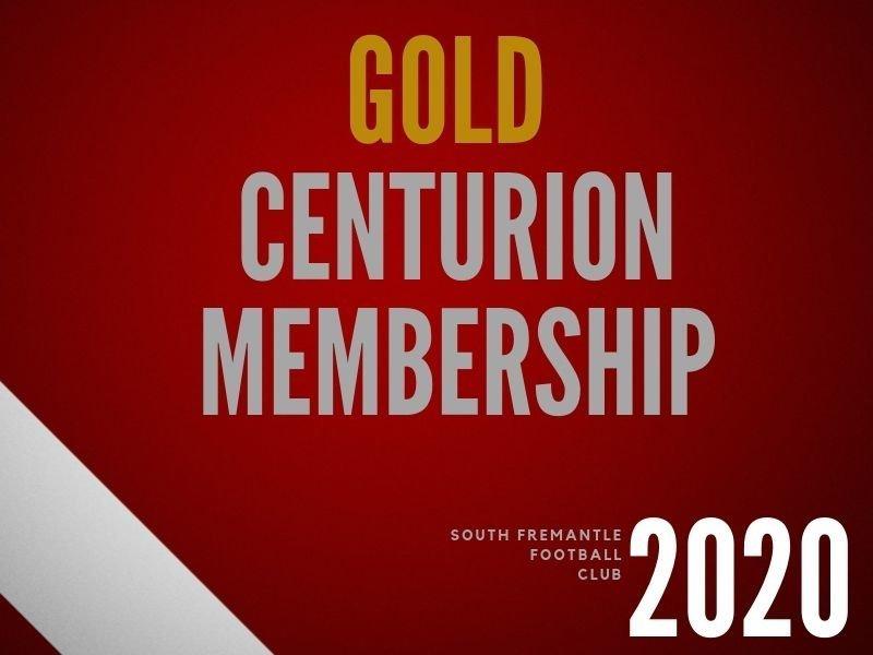 Gold Centurion Membership