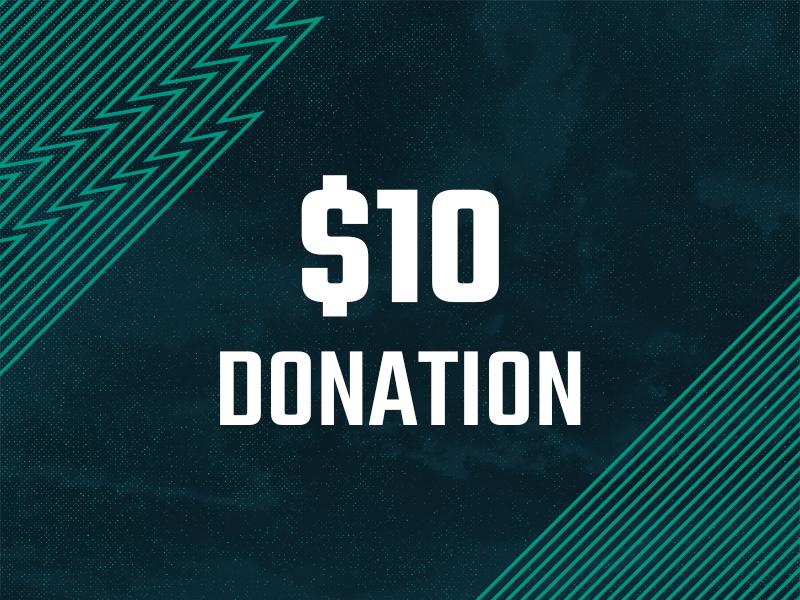 10 Dollar Donation