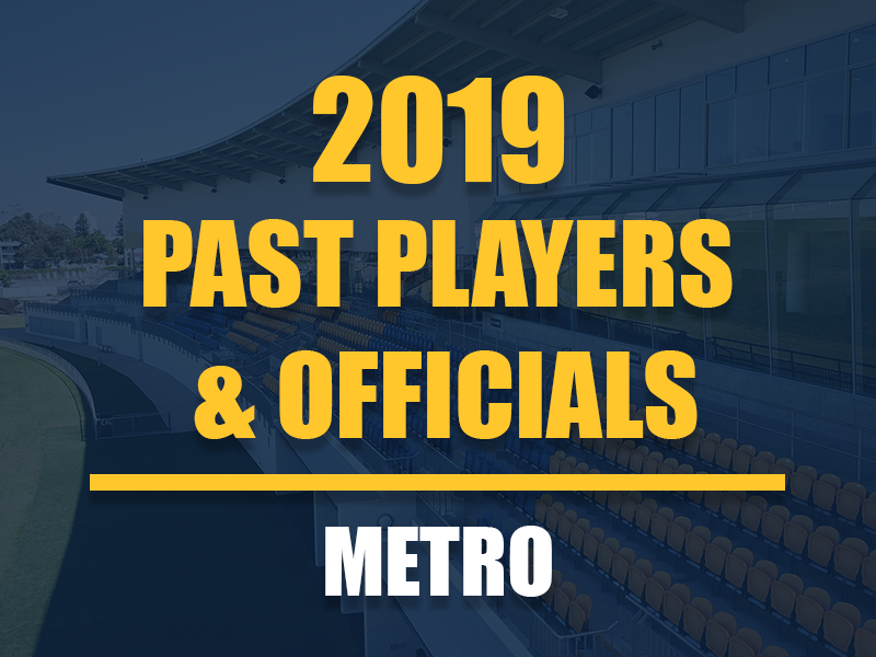 Past Players and Officials Membership - Metro