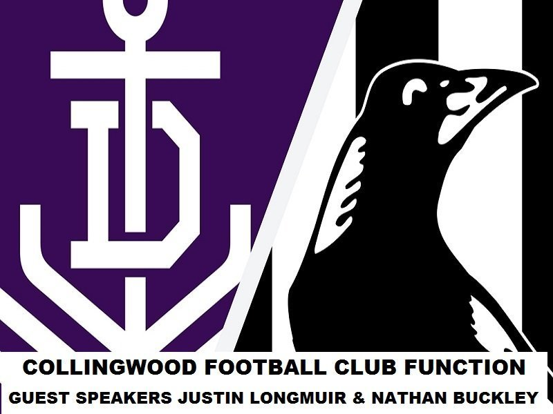 Collingwood Football Club Function - hosted by West Perth Football Club