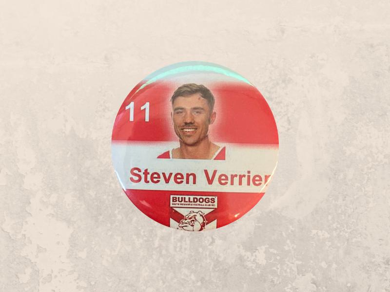 Steve Verrier Badge
