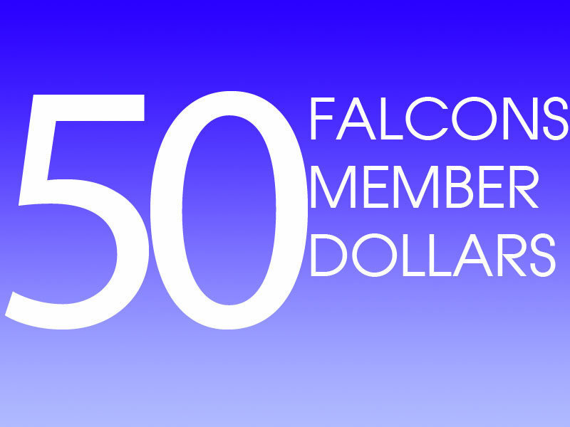 50 Falcons Member Dollars