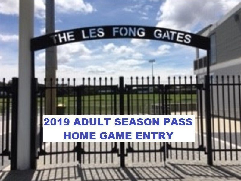 2019 Adult Home Game Entry Season Pass