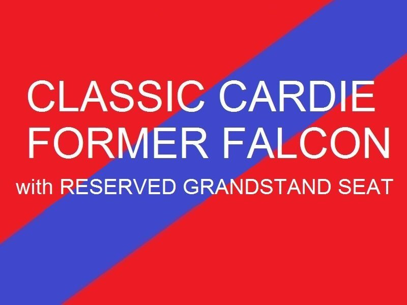 Classic Cardie - Former Falcon  Reserved Grandstand seat