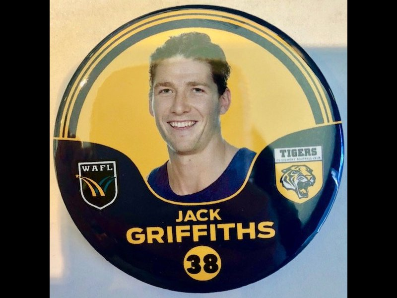 Jack Griffiths Player Badge Number 38