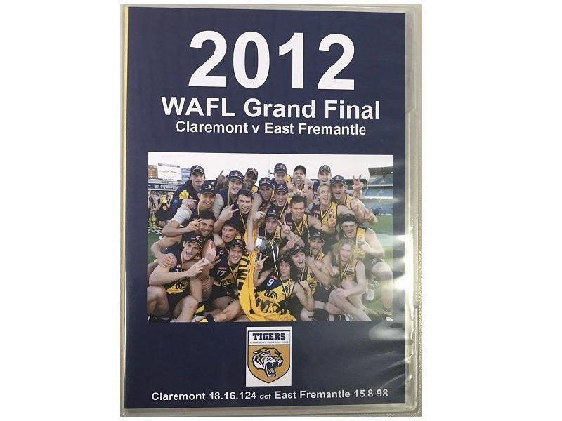 2012 Grand Final DVD