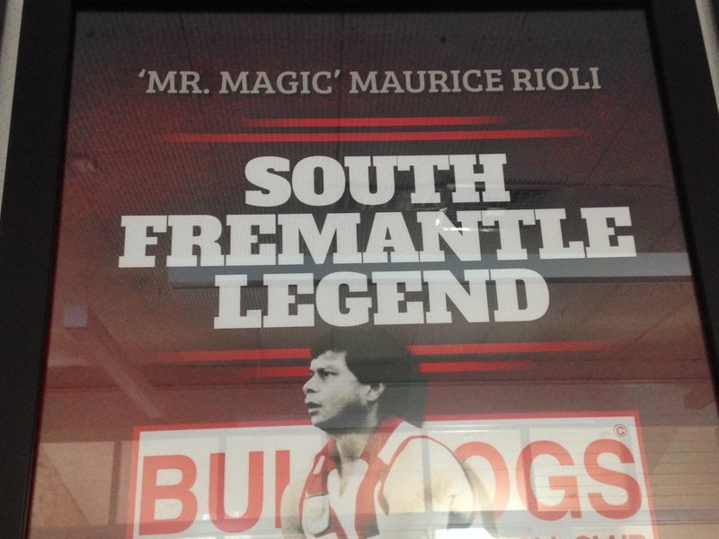 Maurice Rioli Legend Piece