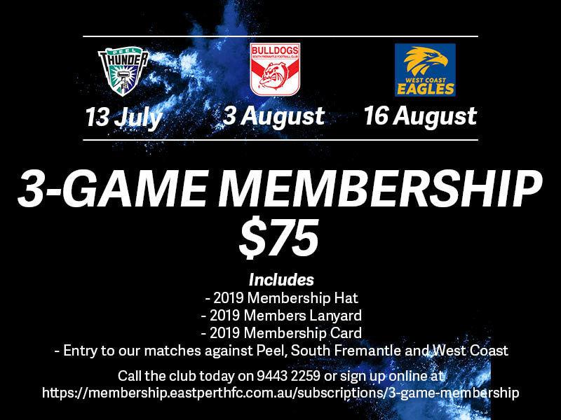 3 Game Membership