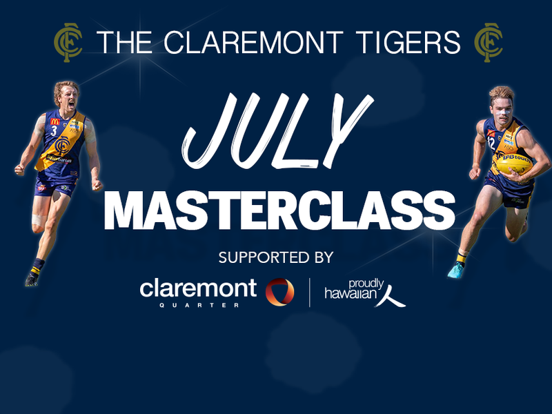 Claremont Tigers July Masterclass