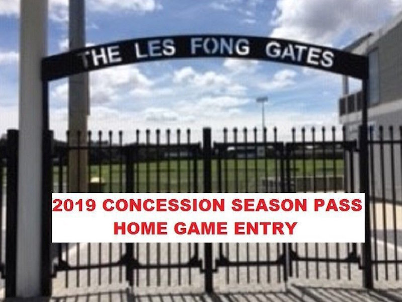 2019 Concession Home Game Entry Season Pass