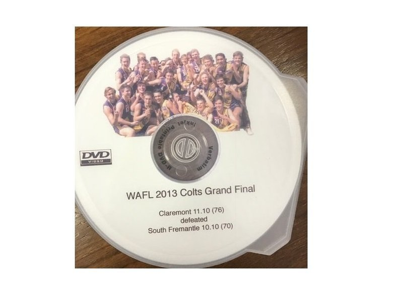 2013 Colts Grandfinal DVD
