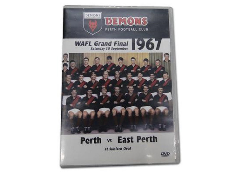 Perth Football Club DVD - 1967