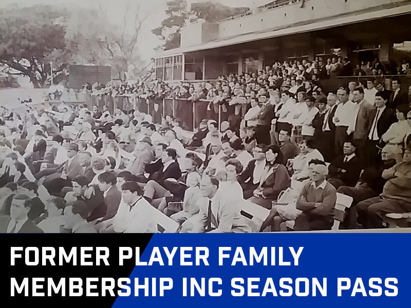 Former Player Family Membership inc Season Pass