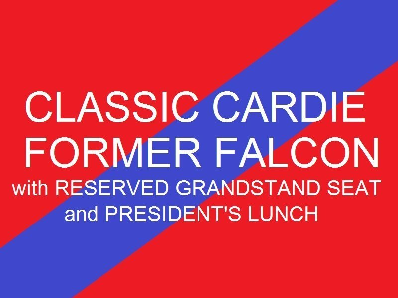 Classic Cardie - Former Falcon  Reserved Grandstand seat - Presidents Lunch