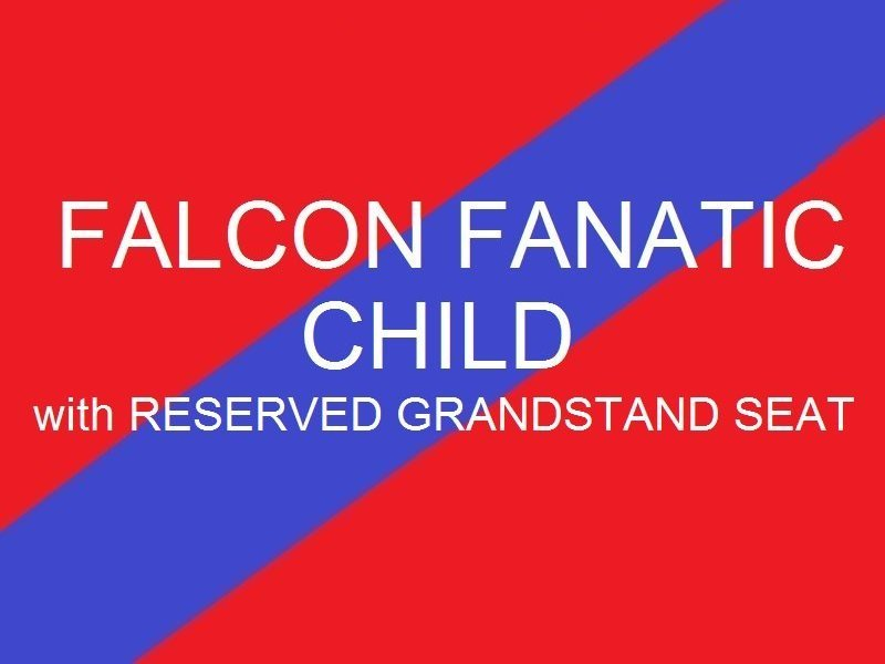 Falcon Fanatic Child - Youth Reserved Grandstand Seat