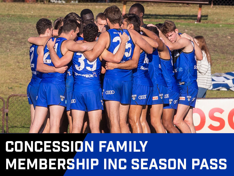 Concession Family Membership inc Season Pass