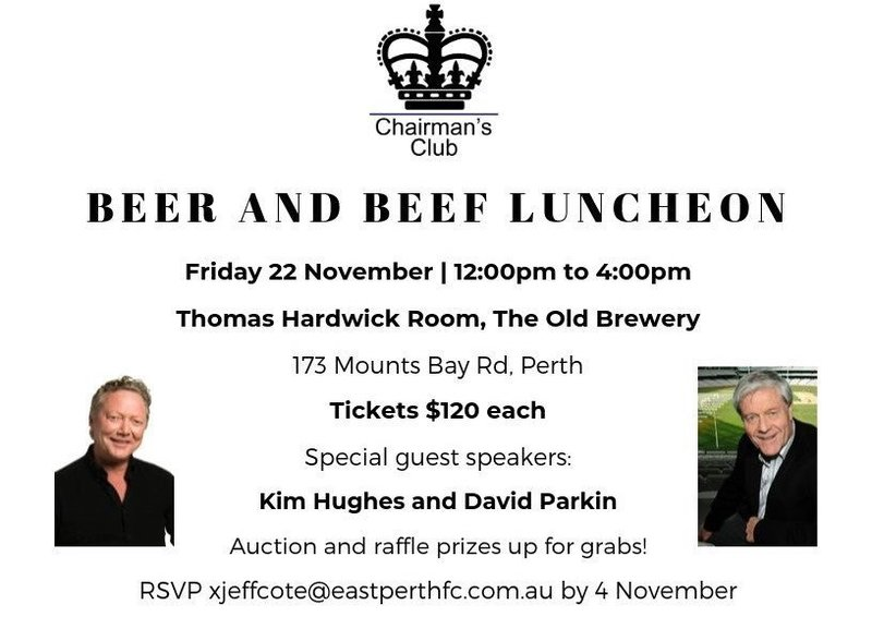 2019 Chairmans Club Beer and Beef Luncheon