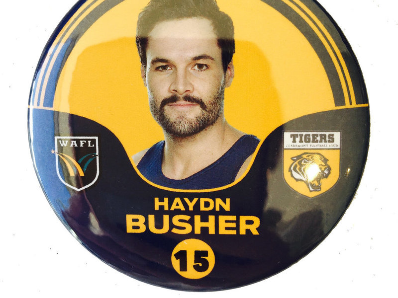 Haydn Busher 15 Player Badge