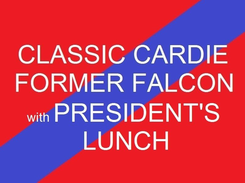 Classic Cardie - Former Falcon  Presidents Lunch