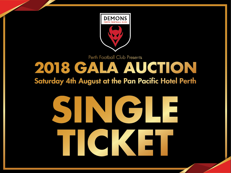 2018 Gala Auction Ticket - Single