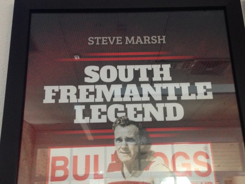 Steve Marsh Legend Piece