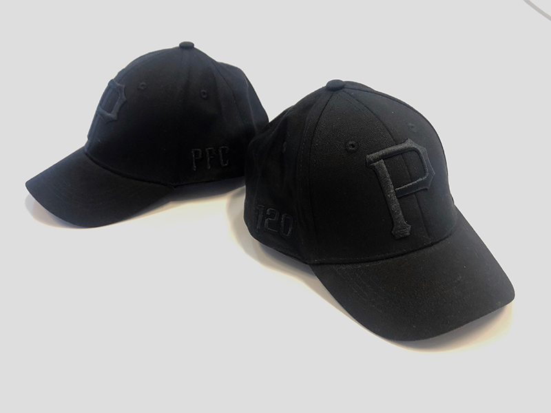 Kids P Cap Black