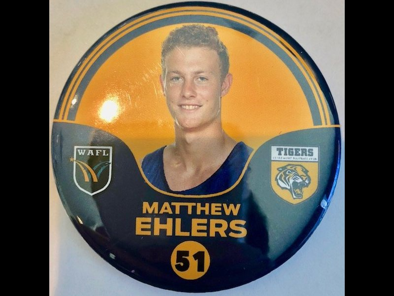 Matthew Ehlers Player Badge Number 51