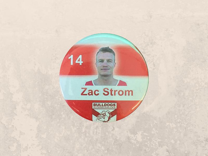 Zac Strom Badge