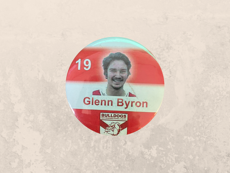 Glen Byron Badge