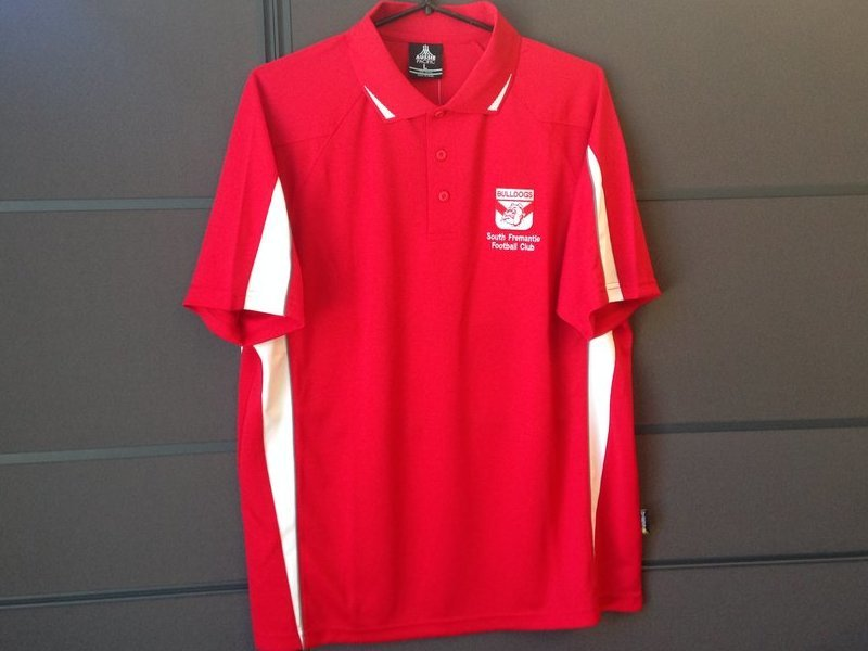 Men Red Polo
