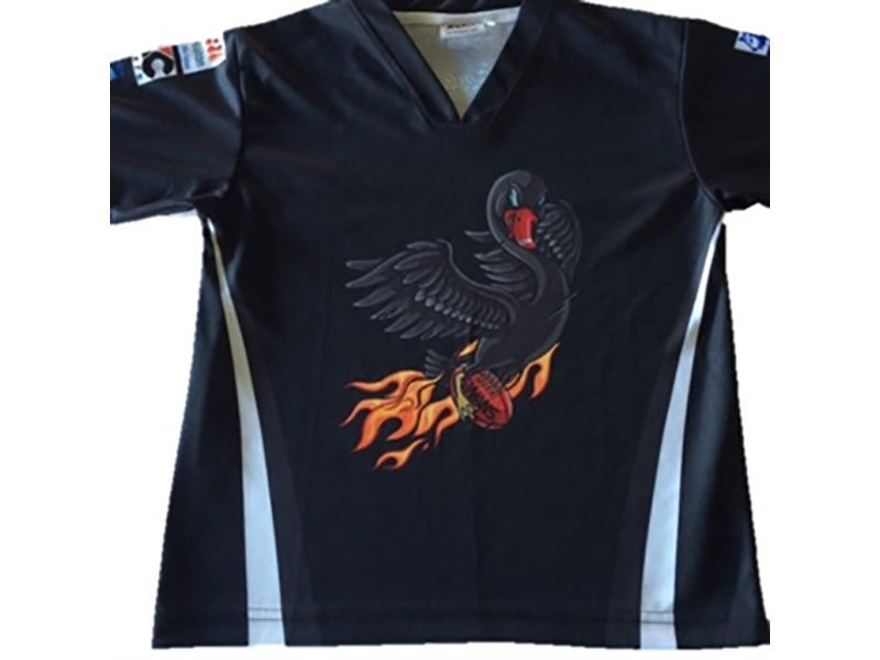 Flaming Swan T-Shirt - Kids