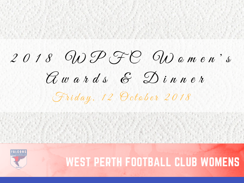 2018 WPFC Womens Awards and Dinner