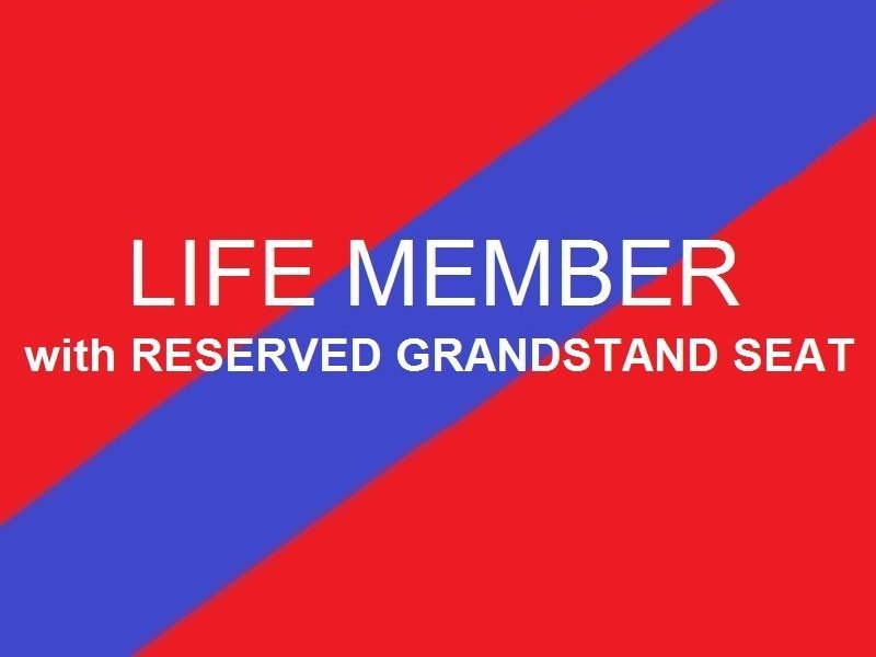 Life Member  Reserved Grandstand seat