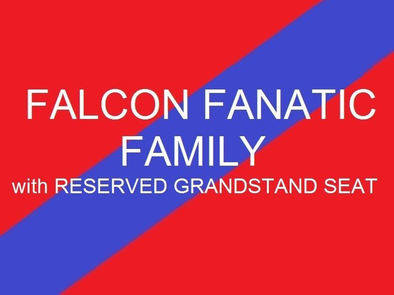 Falcon Fanatic Family           Reserved Grandstand seats